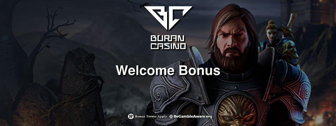 Buran Casino: 200 Bonus Spins plus 100% Match Bonus!