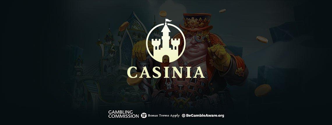 Casinia Casino: €500 Casino Bonus + 200 Bonus Spins