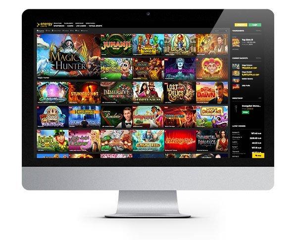 Energy Casino desktop