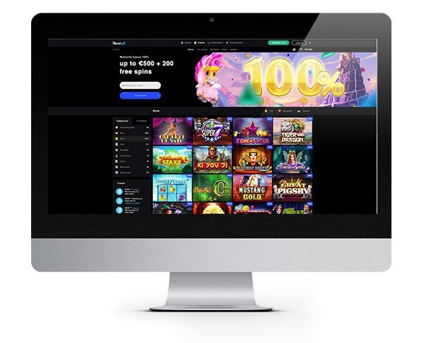 LibraBet Casino New First Deposit Bonus