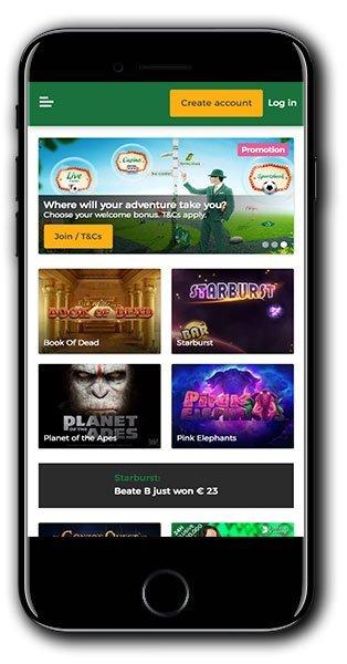 Mr Green Casino Free Spins Match Bonus