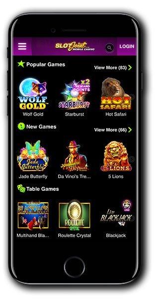 SlotJoint Casino Welcome Bonus