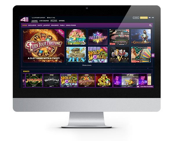 4StarsGames Casino Wager Free Welcome Bonus