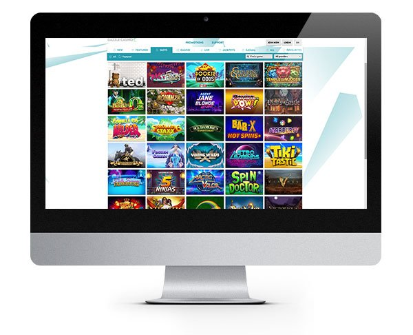dazzle casino screenshot