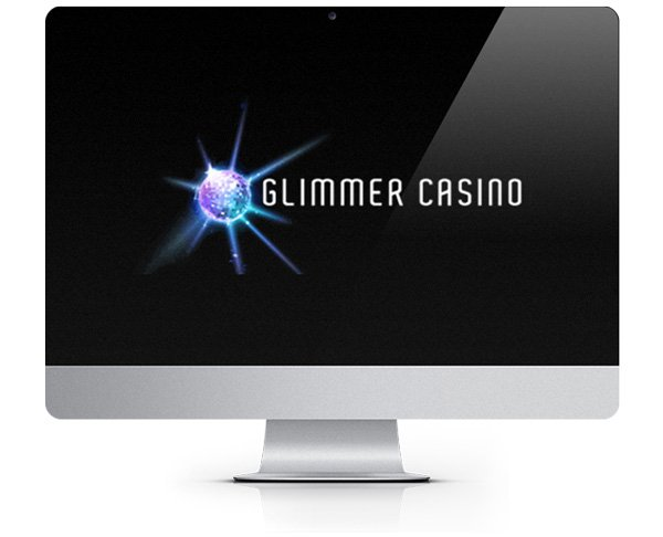 Glimmer Casino logo on screen