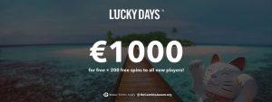 Lucky Days Casino 1140x428