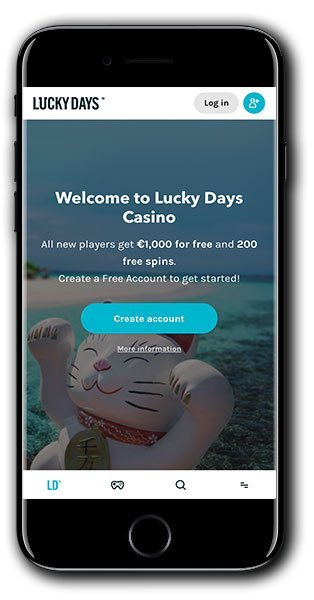 Lucky Days Casino No Deposit Spins Book of Dead