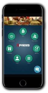 Xpokies Casino Match Bonus Spins