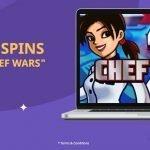 chef wars free spins