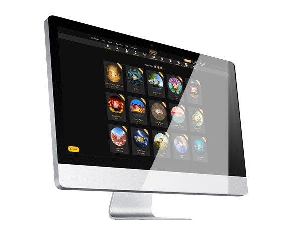 Lobi desktop Jackpot Village