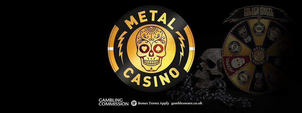 Metal Casino: $/€100 Free Welcome Bonus on first deposit!