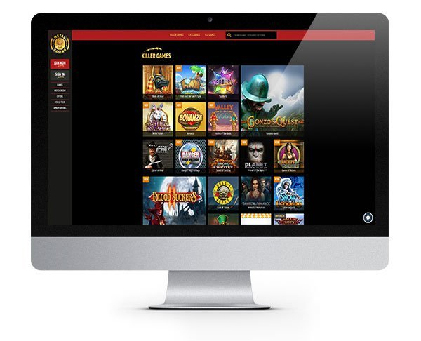 Metal Casino desktop