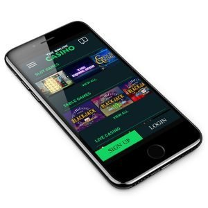 The Online Casino mobile