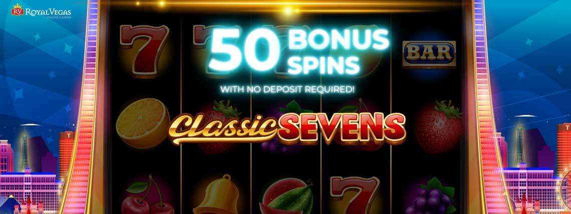 royal vegas 50 free spins