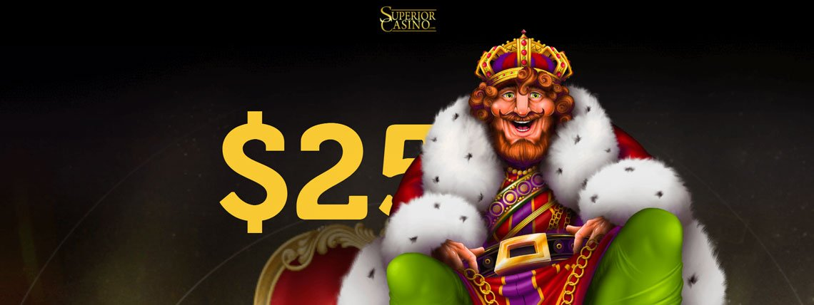 superior casino 25 no deposit