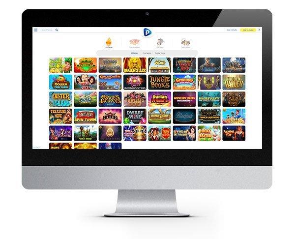 Pelaa Casino desktop