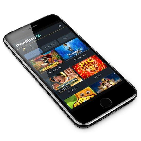 Roaring 21 Casino mobile