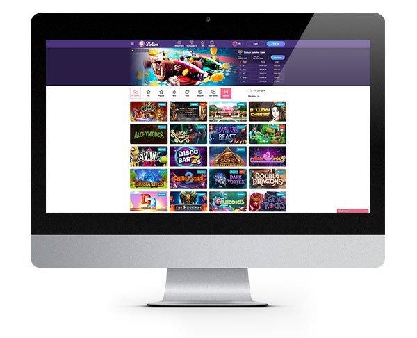Slotum Casino desktop