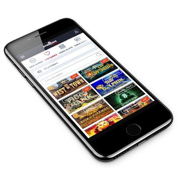 Syndicate Casino smart phone