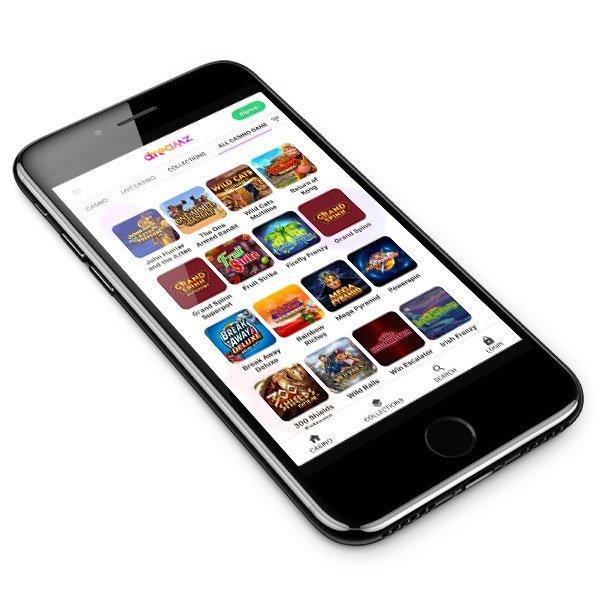 Dreamz Casino mobile