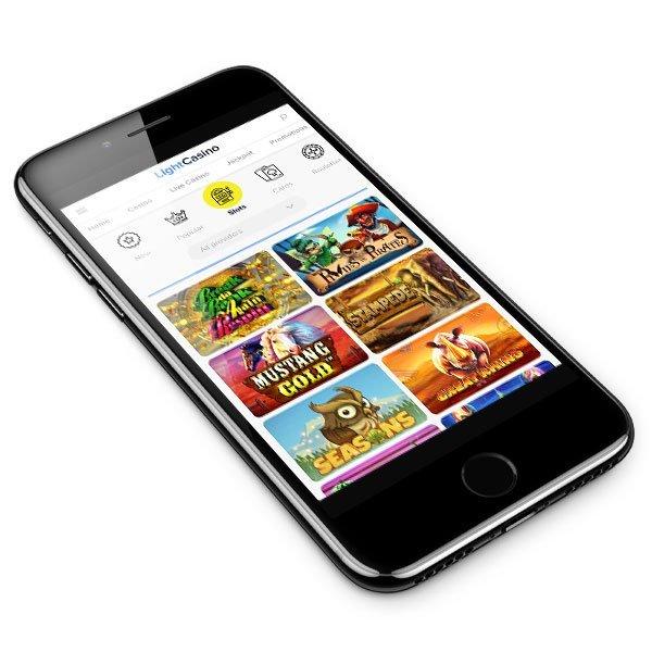 New Light Casino mobile