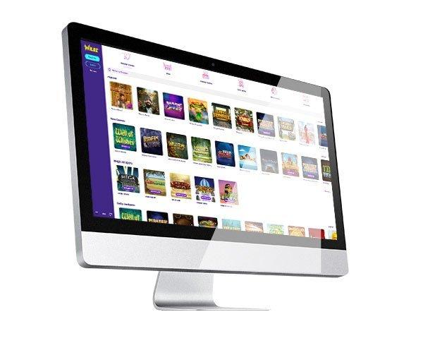 Wildz Casino desktop