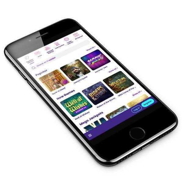 Wildz Casino mobile