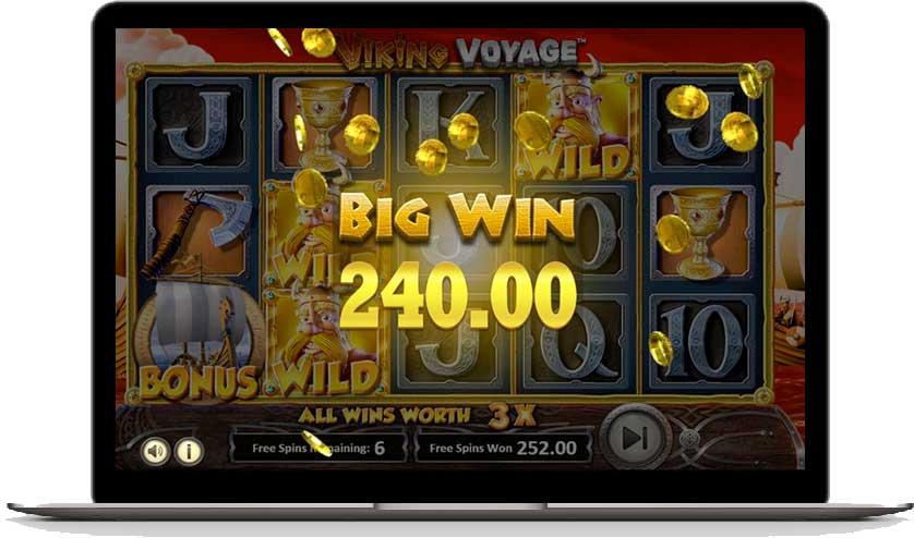 viking voyage big win