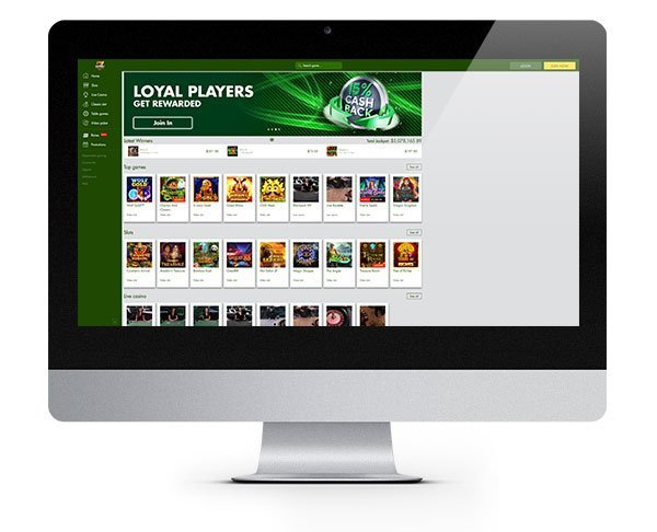 7Reels Casino desktop