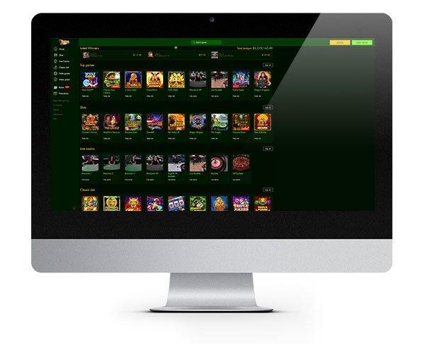 7Spins Casino Desktop