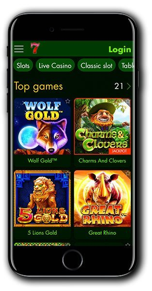 7Spins Casino Mobile