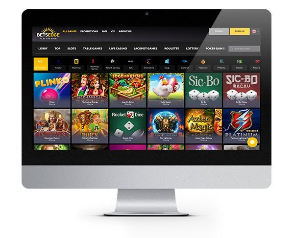 Bets Edge Casino desktop