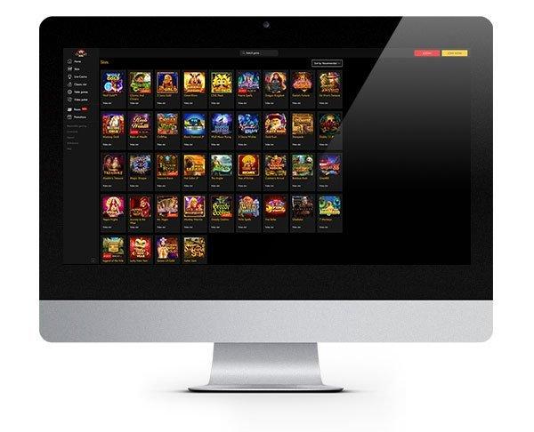 Casino Moons Desktop