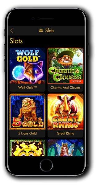 Casino Moons Mobile