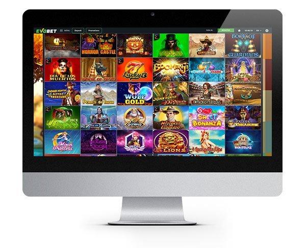 EvoBet Casino Desktop