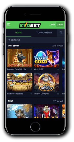 EvoBet Casino Mobile