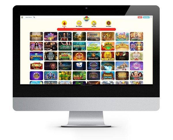 Kassu Casino Desktop