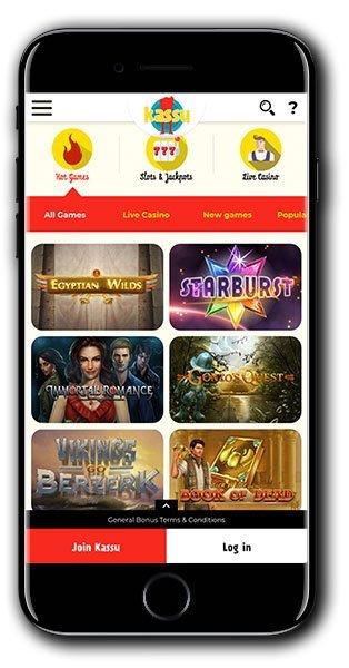 Kassu Casino Mobile