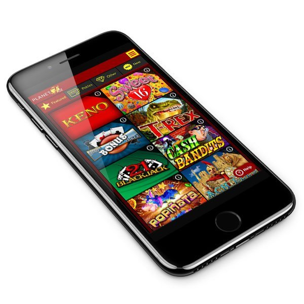 Planet7 Oz Casino mobile