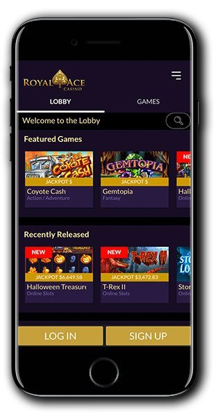 Royal Ace Casino mobile
