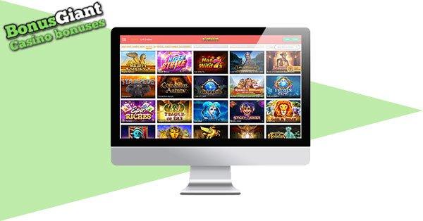 Slotanza Casino Desktop BG