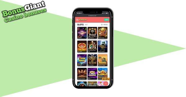 Slotanza Casino Mobile