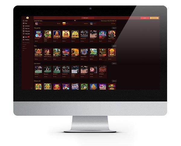 Thebes Casino desktop