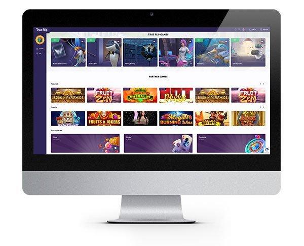 Desktop TrueFlip Casino