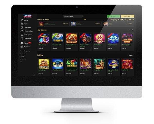 Viva Mon Casino Desktop