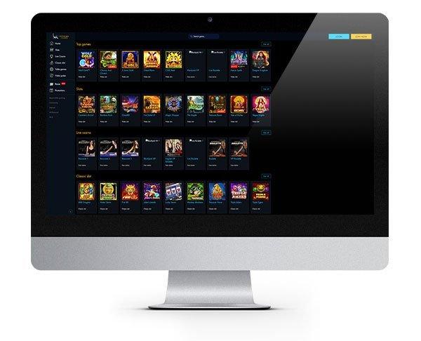 Winward Casino Desktop