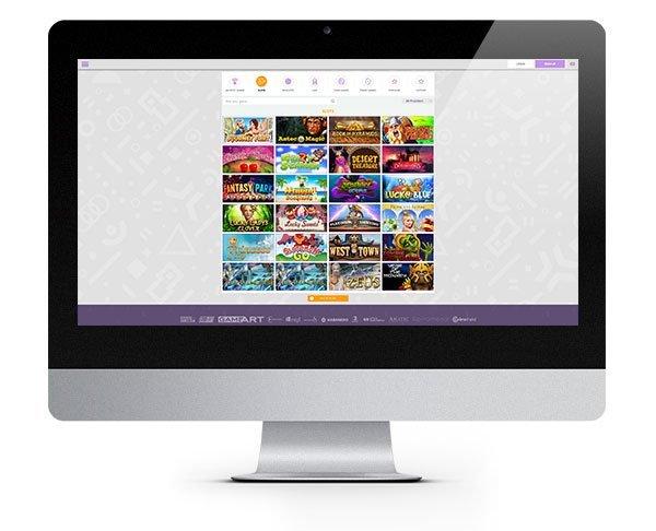 CryptoWild Casino desktop