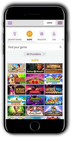 CryptoWild Casino mobile