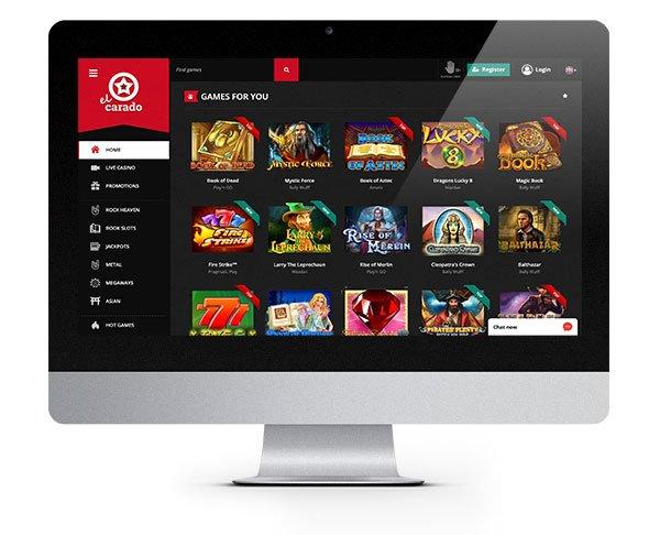 El Carado Casino desktop