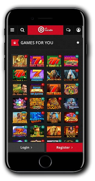 El Carado Casino mobile